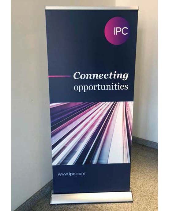 Trade show banner stand /   Graphics