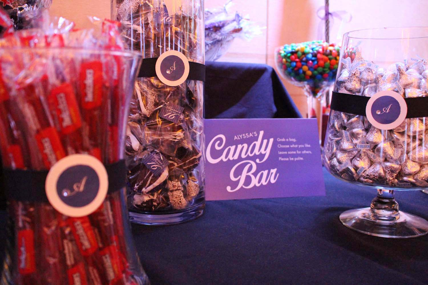Personalized Candy Bar