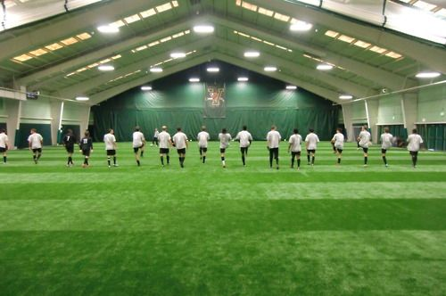 University of Vermont Indoor soccer facility