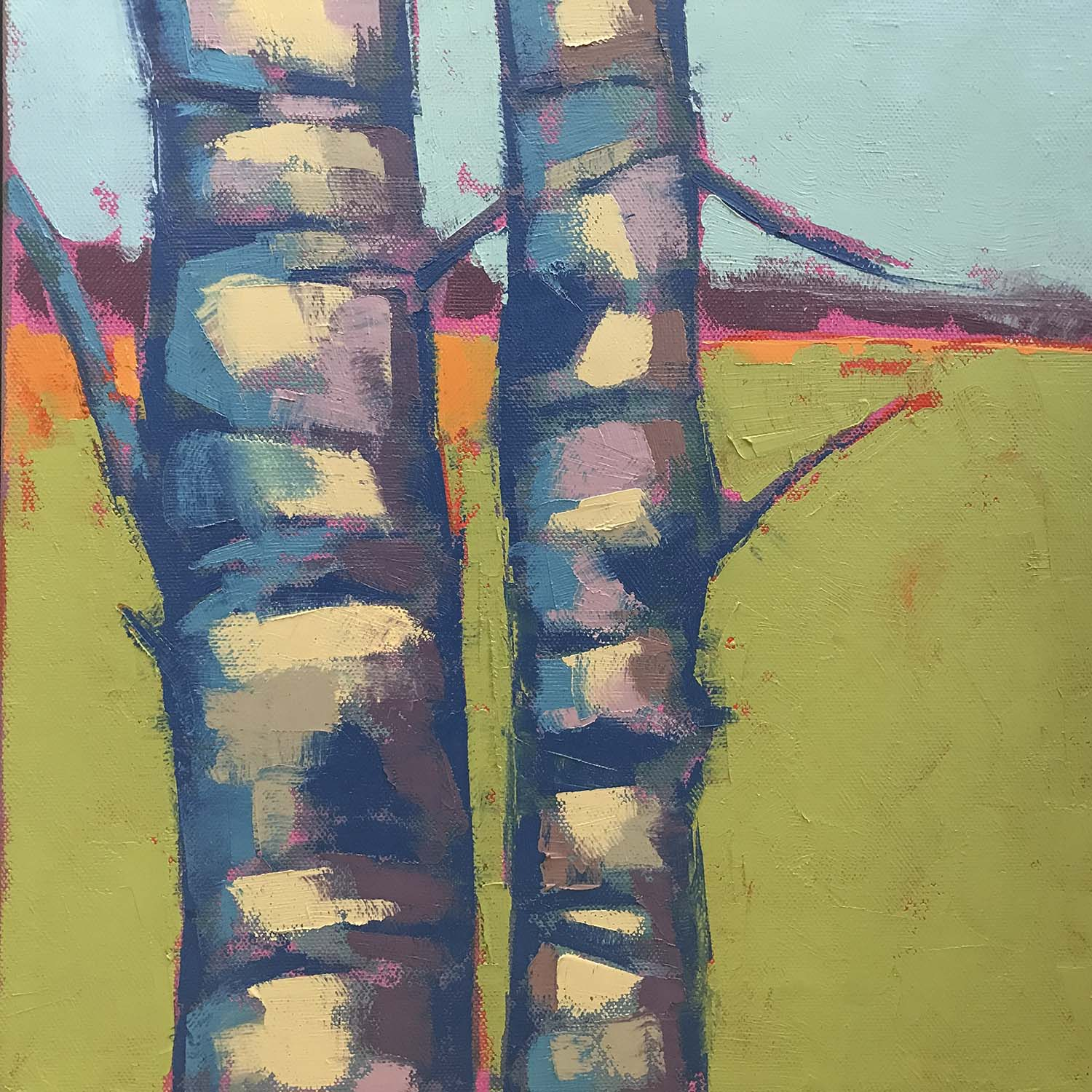 Birch Abstract #1