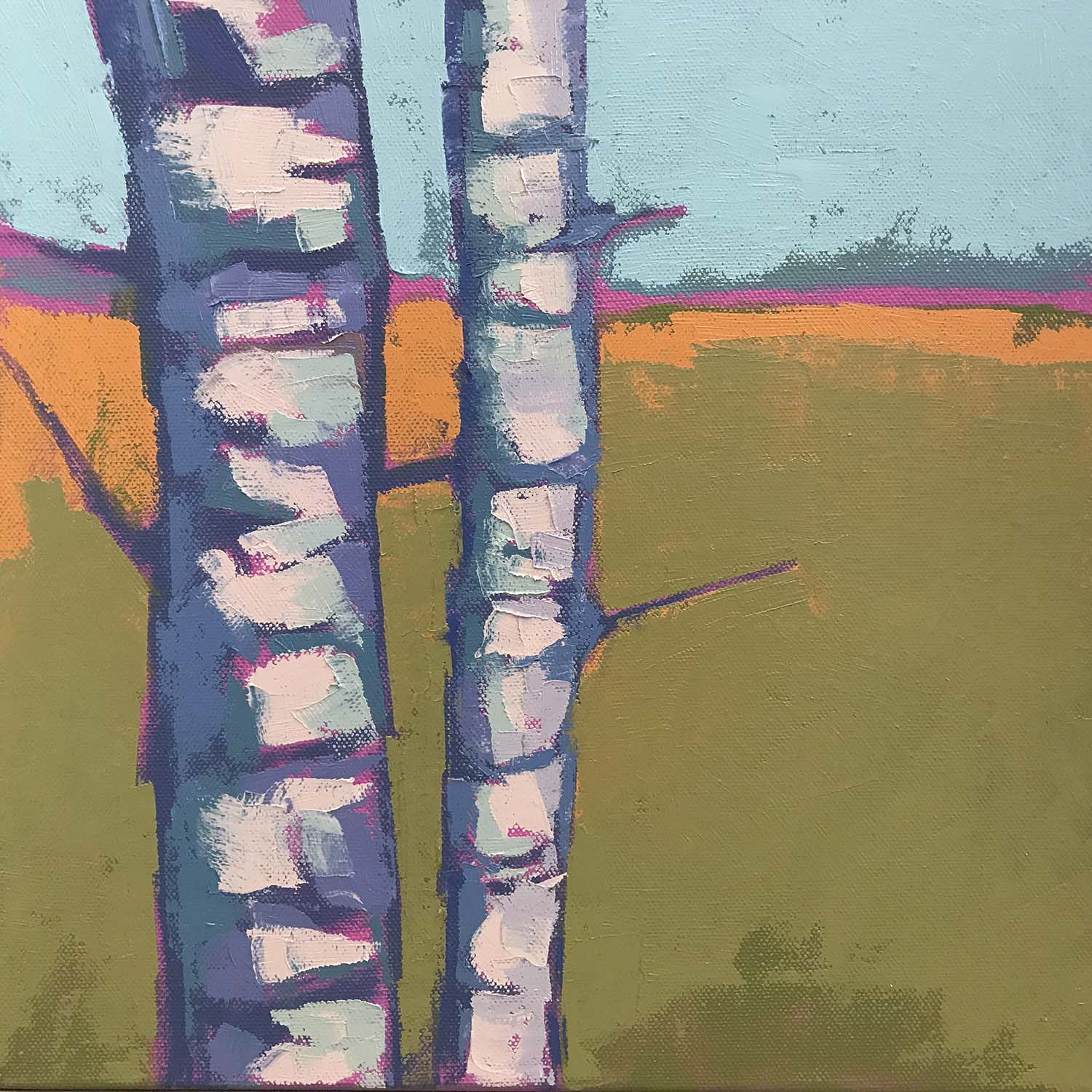 Birch Abstract #2