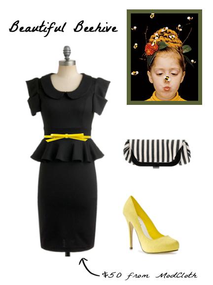 Beehive Hair-do , Dress