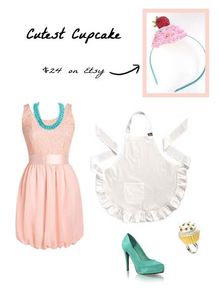 Cupcake Headband , Dress
