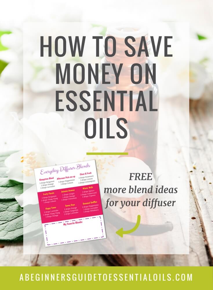 Essential oils are not cheap, it's true. But they are definitely worth the expense. You'll find yourself saving money on other things, including cleaning supplies and personal care products! And, as you'll see below, when you figure the cost-per-drop (since you only use a few drops for most everything), it's actually not as expensive as you think. Learn how to save money on essential oils with the tips in this post!