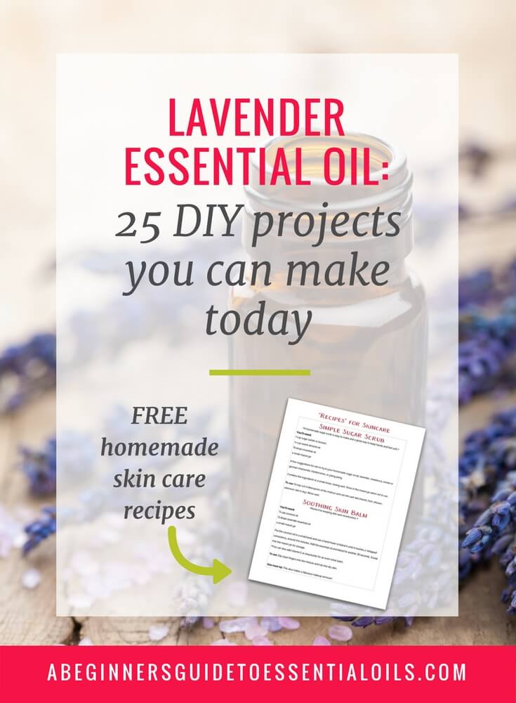 Lavender is one of my favorite essential oils. It's calming and gentle and the scent is perfect for so many different uses. It's easy to learn how to use lavender essential oil and these 25 DIY lavender essential oil projects will show you just how versatile lavender can be!