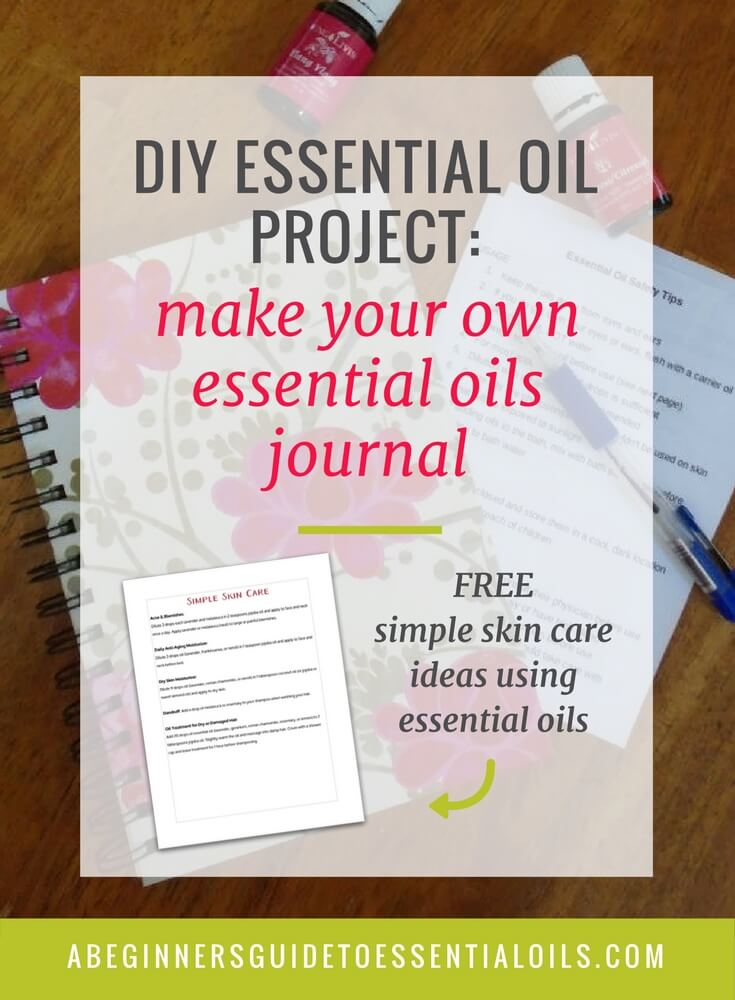 There are so many ways to use essential oils - it's hard to remember what you've tried and found successful! When you find the method and oil that works, write it down so you don't forget. The best way to keep track of that information is with a journal. I like to keep one for organizing my essential oil recipes. And making your own essential oil journal is easy!