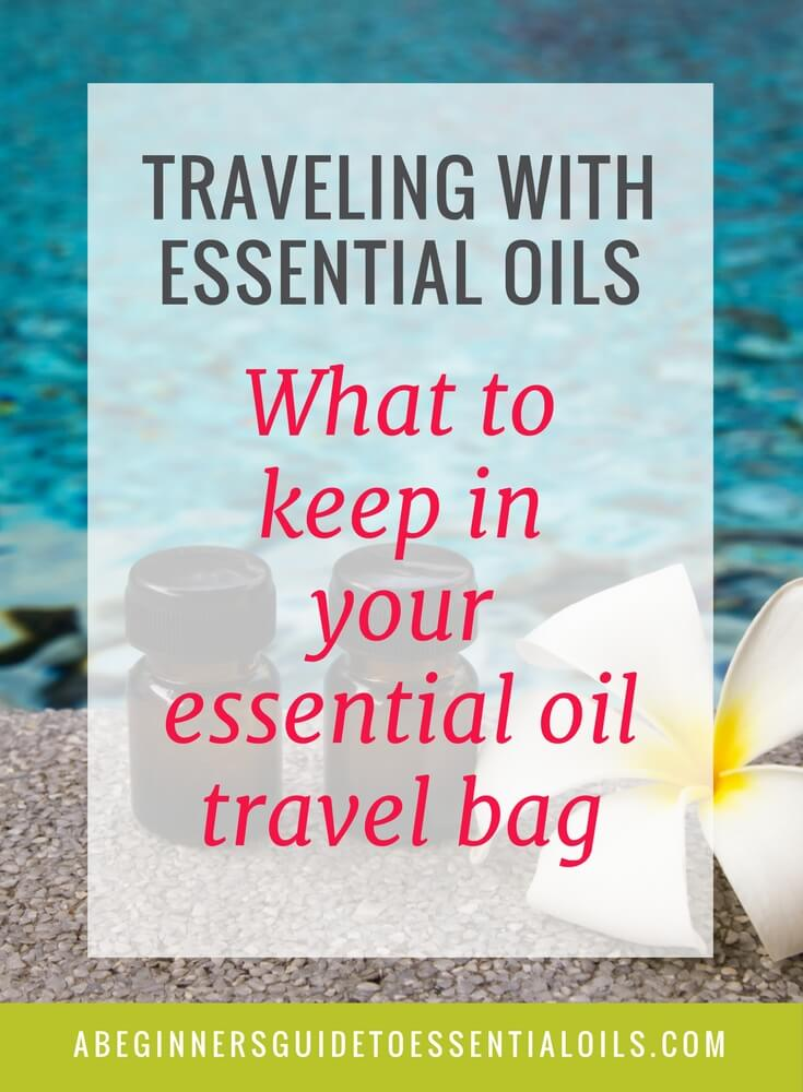 My little bag of essential oils is usually the first thing I pack when we're getting ready to travel - long trips, short trips, overnight trips, even day trips - I make sure the oils are packed! I've replaced many of my usual travel items with my essential oils. Here's what you need when you're traveling with essential oils.