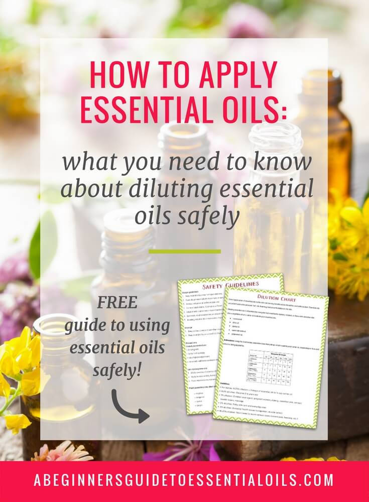 Learning how to apply essential oils topically is one of the most confusing parts of using essential oils. Dilutions... carrier oils... safety concerns -- it's a lot to figure out! This post looks at each aspect and breaks it all down into manageable steps.