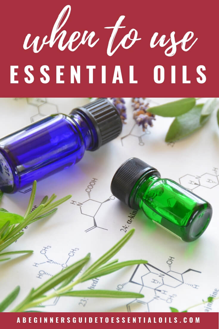 Essential oils can be a wonderful resource when they are used properly but they still have to be used with care and caution. While there are plenty outrageous claims online about the many benefits of essential oils (and lots of unsafe methods for using them), they aren't actually a miracle cure for every ailment. There are times you may not want to reach for your essential oils.