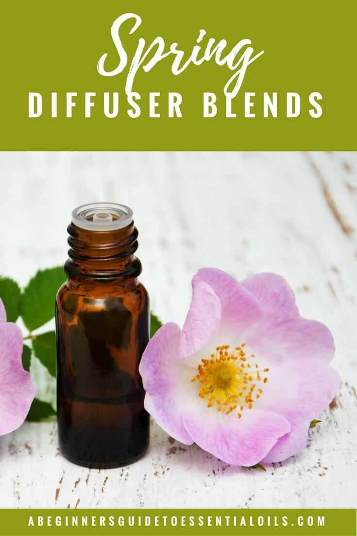 Don't you just love spring? Especially after a long, cold winter! The buds on the trees, the blooming flowers, the sunshine - it's so nice to see those changes, knowing it's bringing warmer weather. These essential oil diffuser blends for spring will only enhance those feelings!