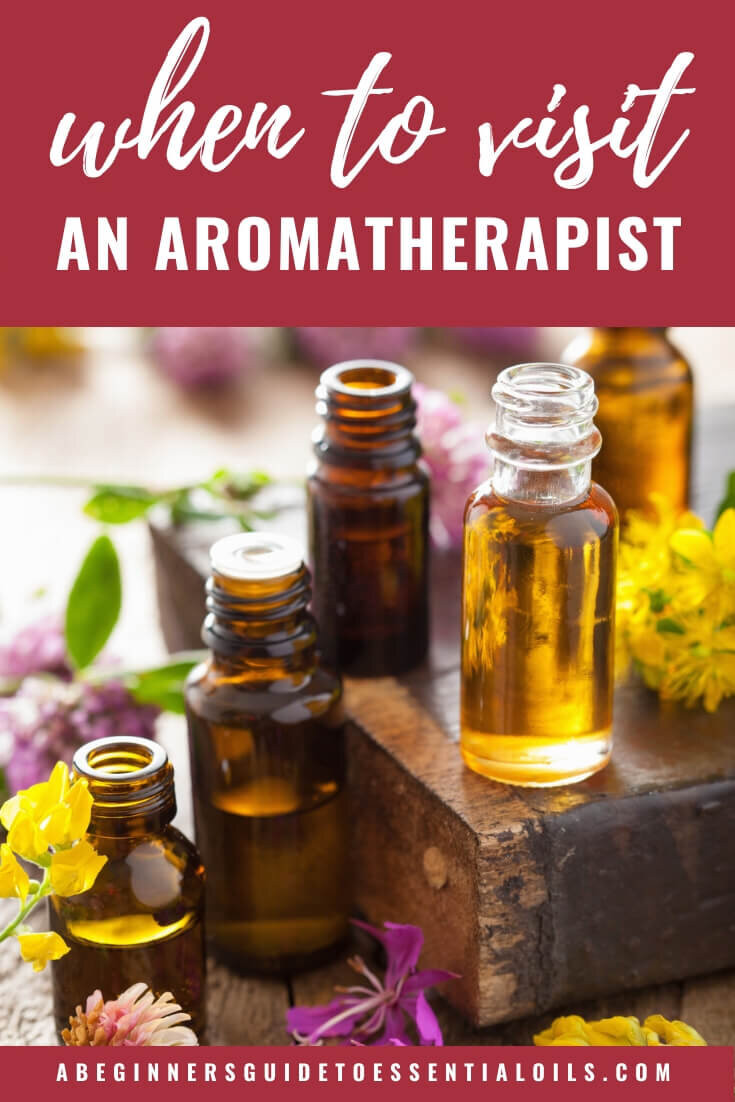 When you're using essential oils for their therapeutic properties you might want to use them for something more serious than a cold or allergies. When it comes to using them for an issue like that it's time to consult a certified aromatherapist. In this article, we'll look at what an aromatherapist does and those health concerns that might require their consultation.