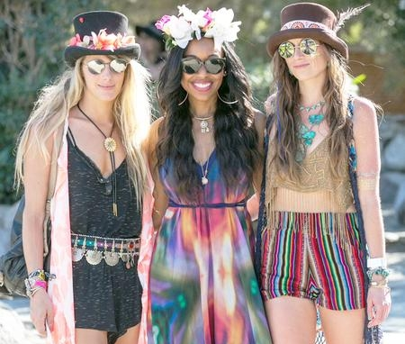 We met up with - We met up with the awesome girls of Wild and Free Jewelry + Paulina Perrucci photography to dance to Kaskade's set.  As the sun went down we got turned up!