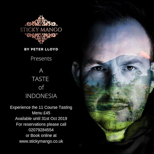 Have you booked? Only 2 weeks left to go to try our 11 course Taste of Indonesia Menu. Last day 31st Oct #wonderfulindonesia @goodindonesianfood @indtravel