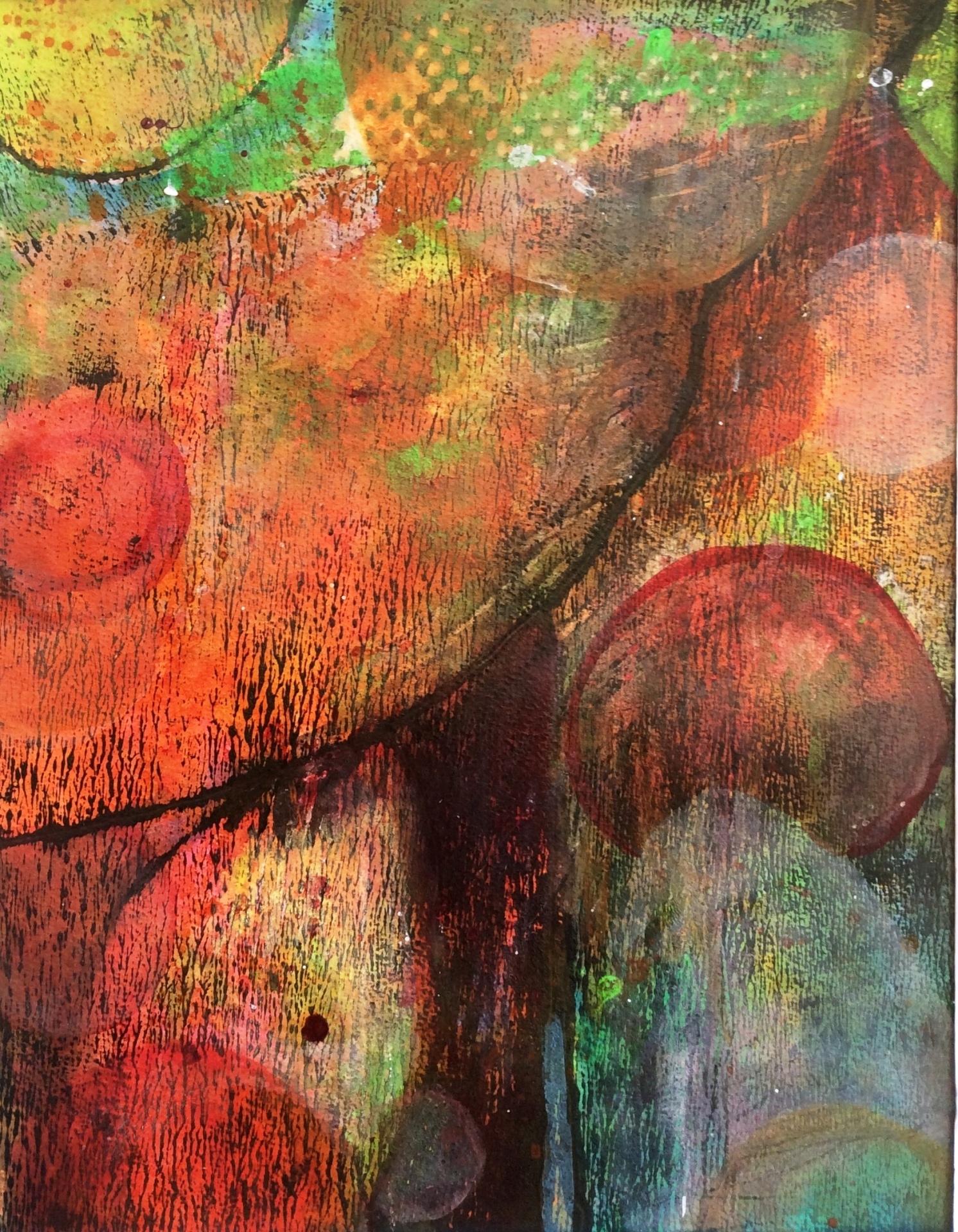 """Bobbers & Lures    11""""X 14""""   Acrylic"""