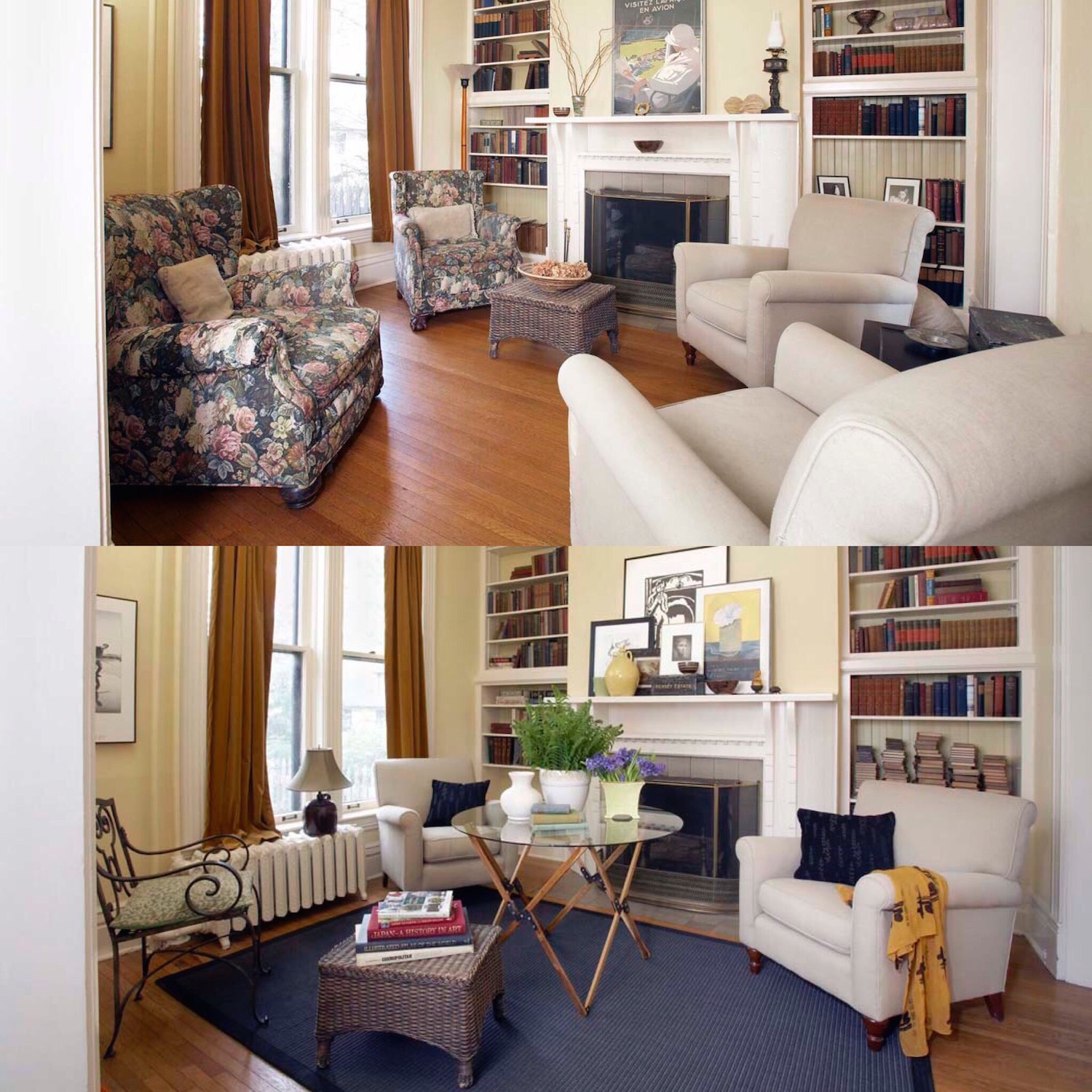 Before and After Flower chairs.jpg