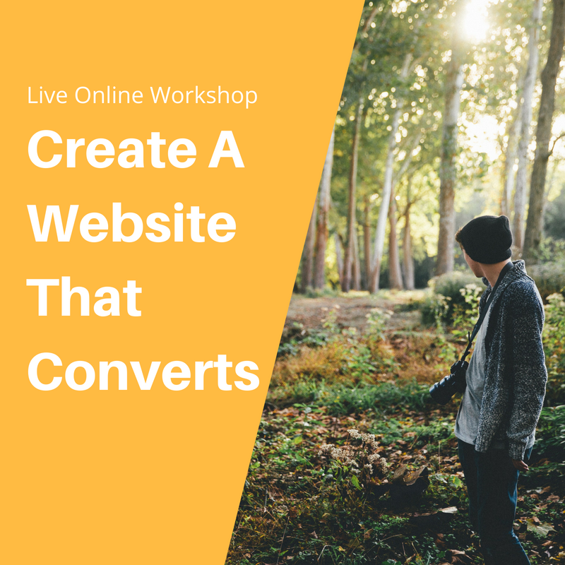 Create A Website That Converts Squarespace Workshop Authorized Trainer