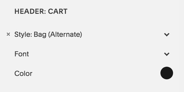 Bag alternate Squarespace shop ecommerce