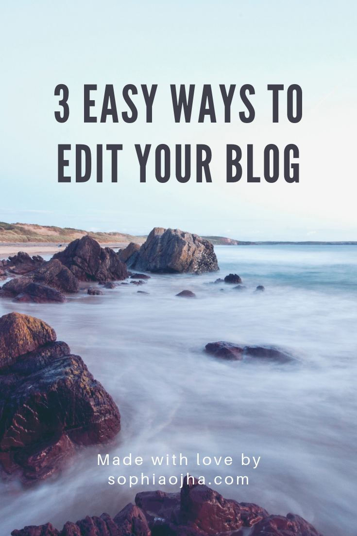 easily edit your squarespace blog