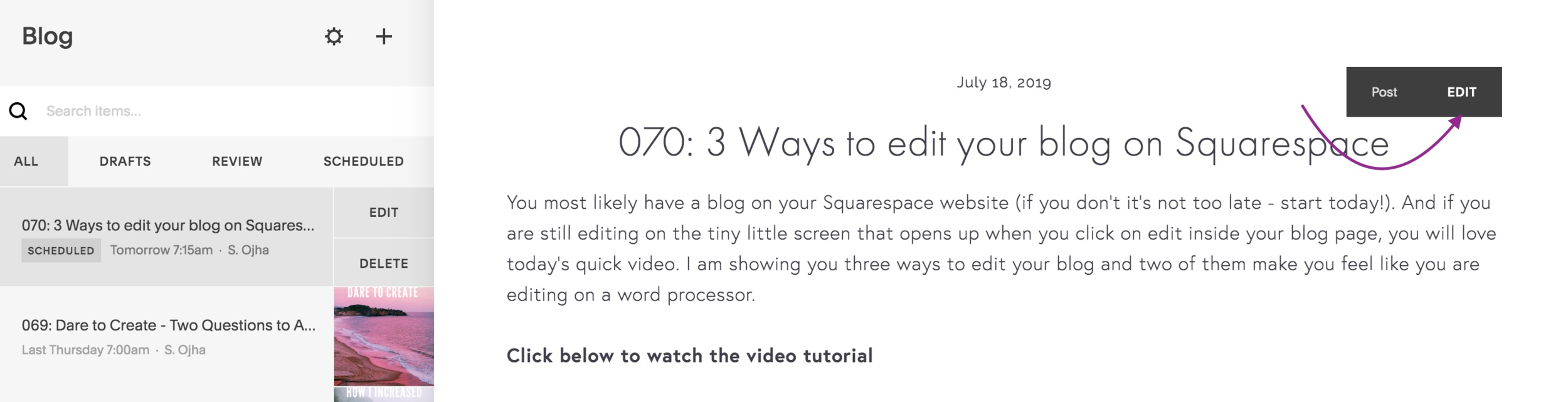 3+easy+ways+to+update+your+Squarespace+blog