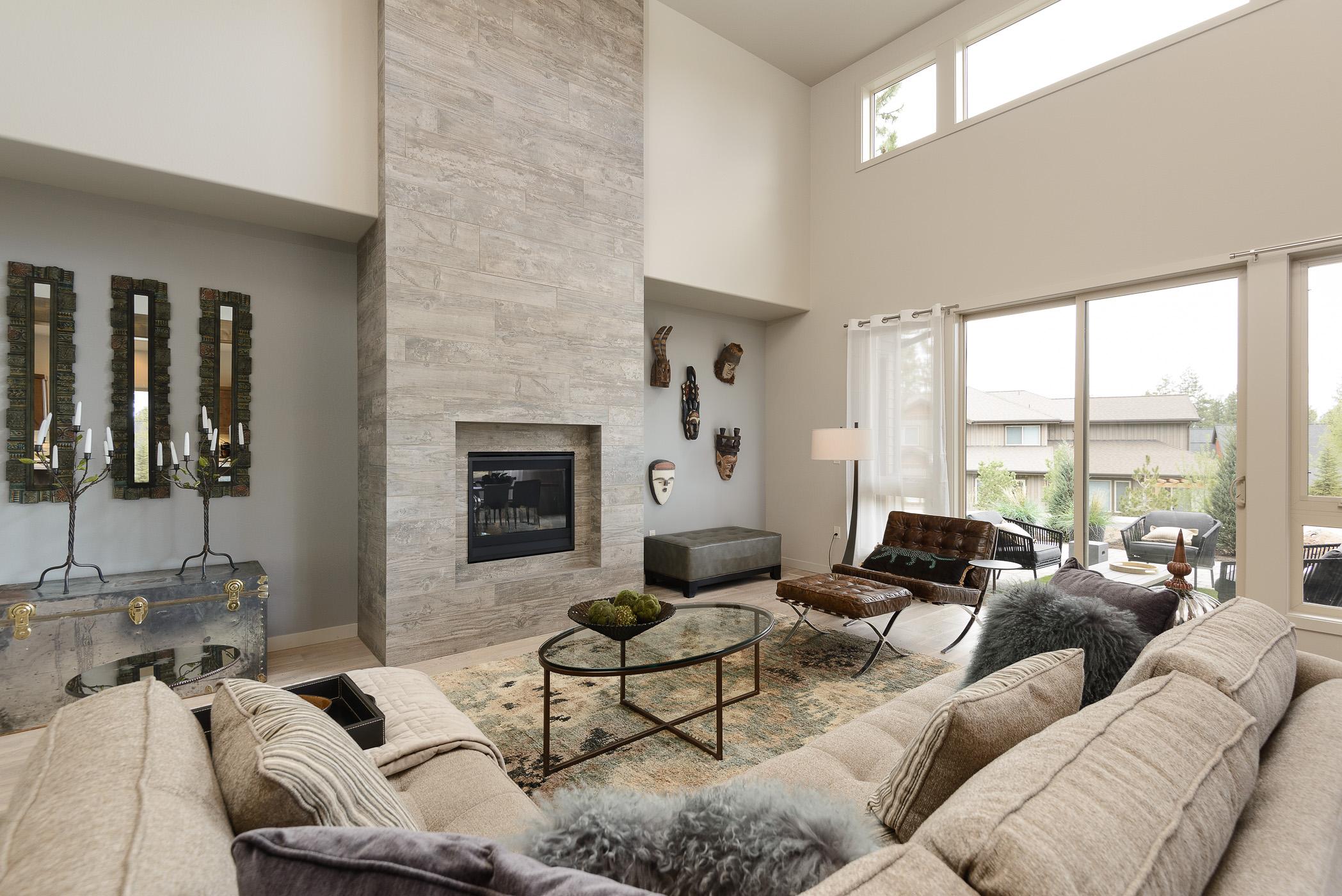 Milepost 1 Model Home living area