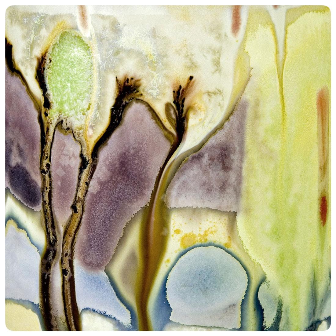 Copy of 13.Crystalline Glaze Detail of an Art Flow cup by Samantha Henneke | Bulldog Pottery | Seagrove | North Carolina