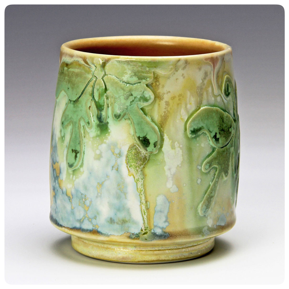 Butterfly Cup by Samantha Henneke | Bulldog Pottery | Seagrove | North Carolina