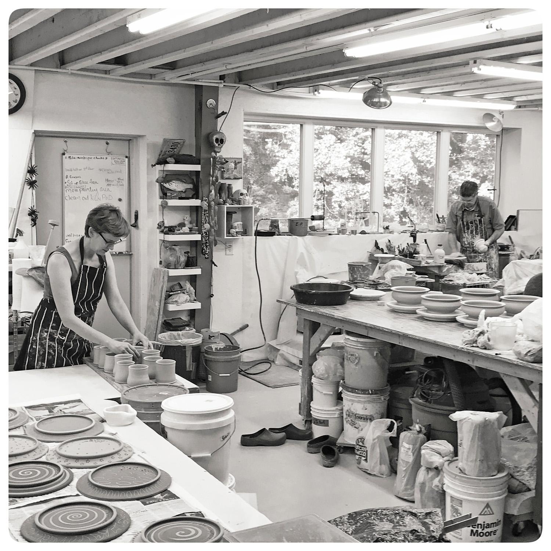 Bruce-Gholson-and-Samantha-Henneke-in-the-Art-Studio.jpg