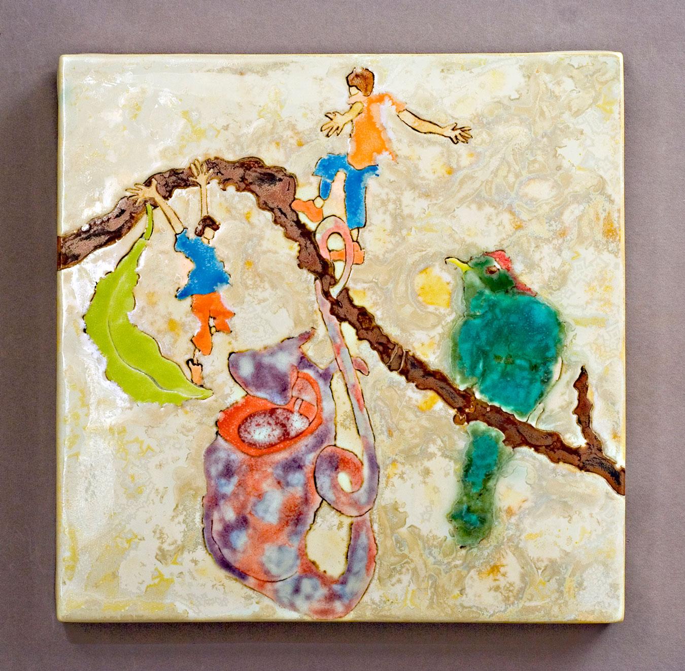 Girls-and-Bird-Ceramic-Art-Painting-Samantha-Henneke.jpg