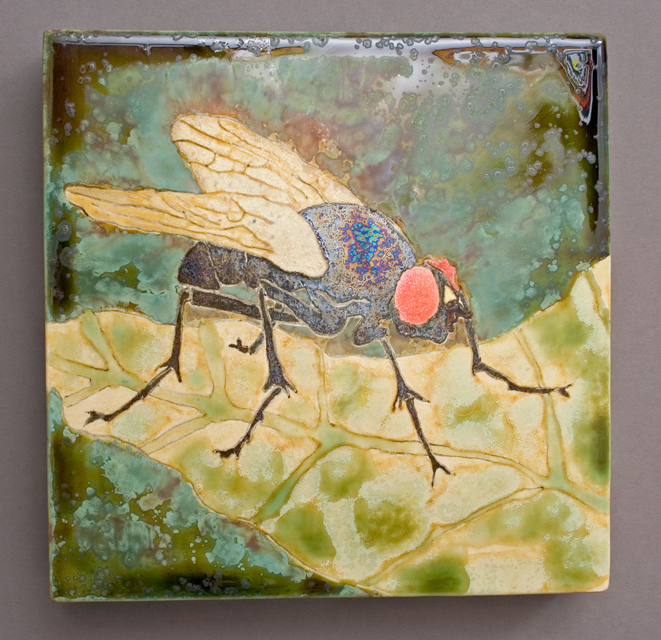 Red-Eye-Fly-ceramic-art-painting-Samantha-Henneke.jpg