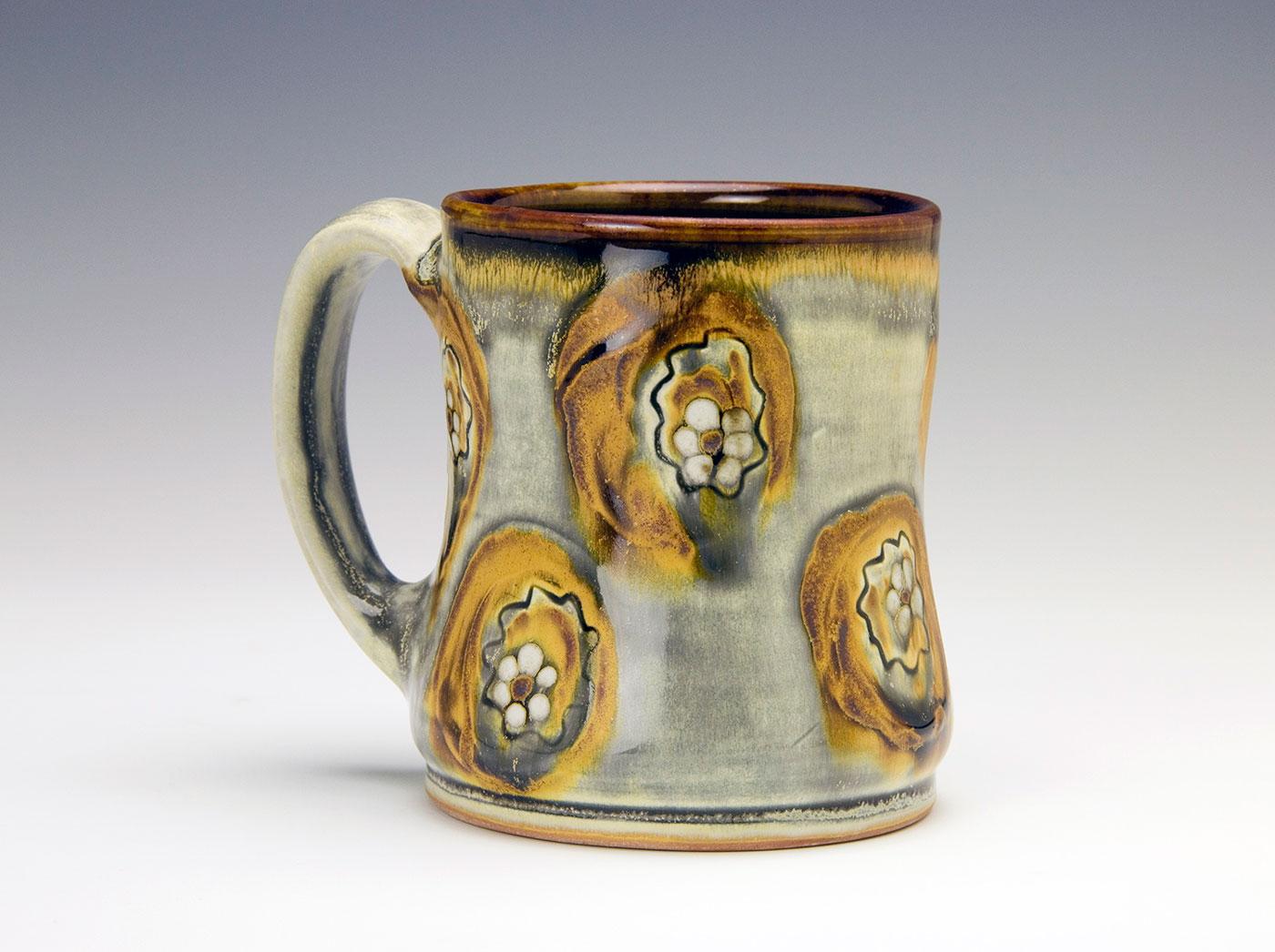 Moka-bronze-abstract-leaves-contemporary-clay-mug-Samantha-Henneke-Seagrove-Pottery.jpg