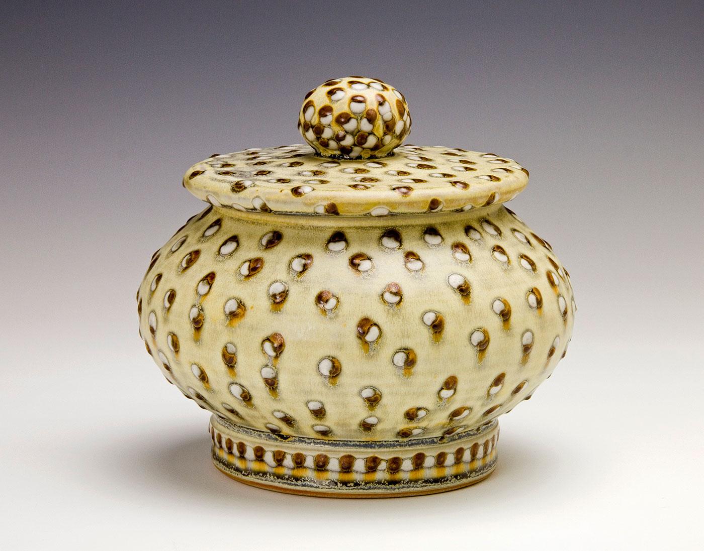 Moka-dot-White-dot-covered-jar-Samantha-Henneke-Seagrove-North-Carolina.jpg
