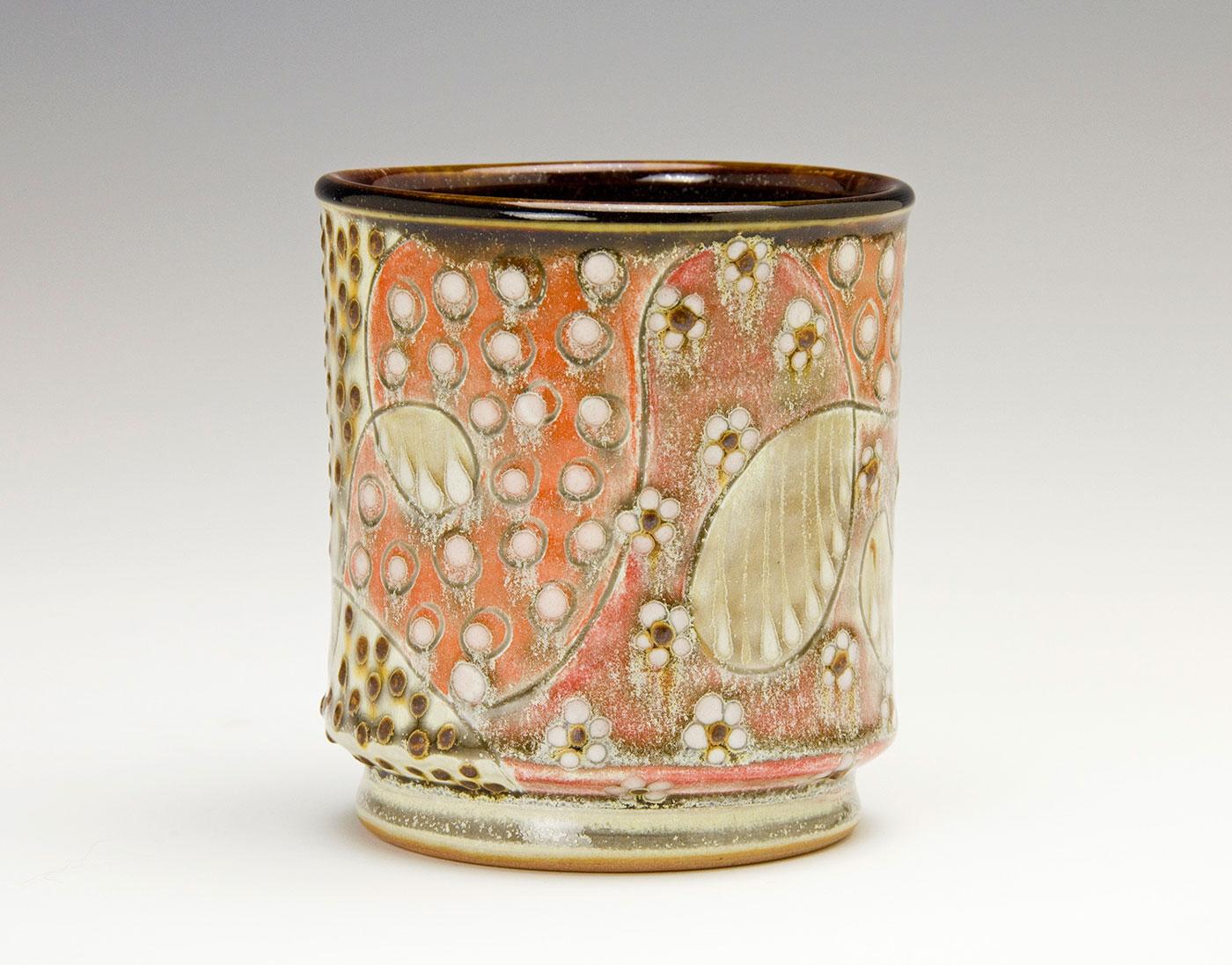 Pattern-Medley-Drinking-cup-Samantha-Henneke-North-Carolina-Pottery.jpg