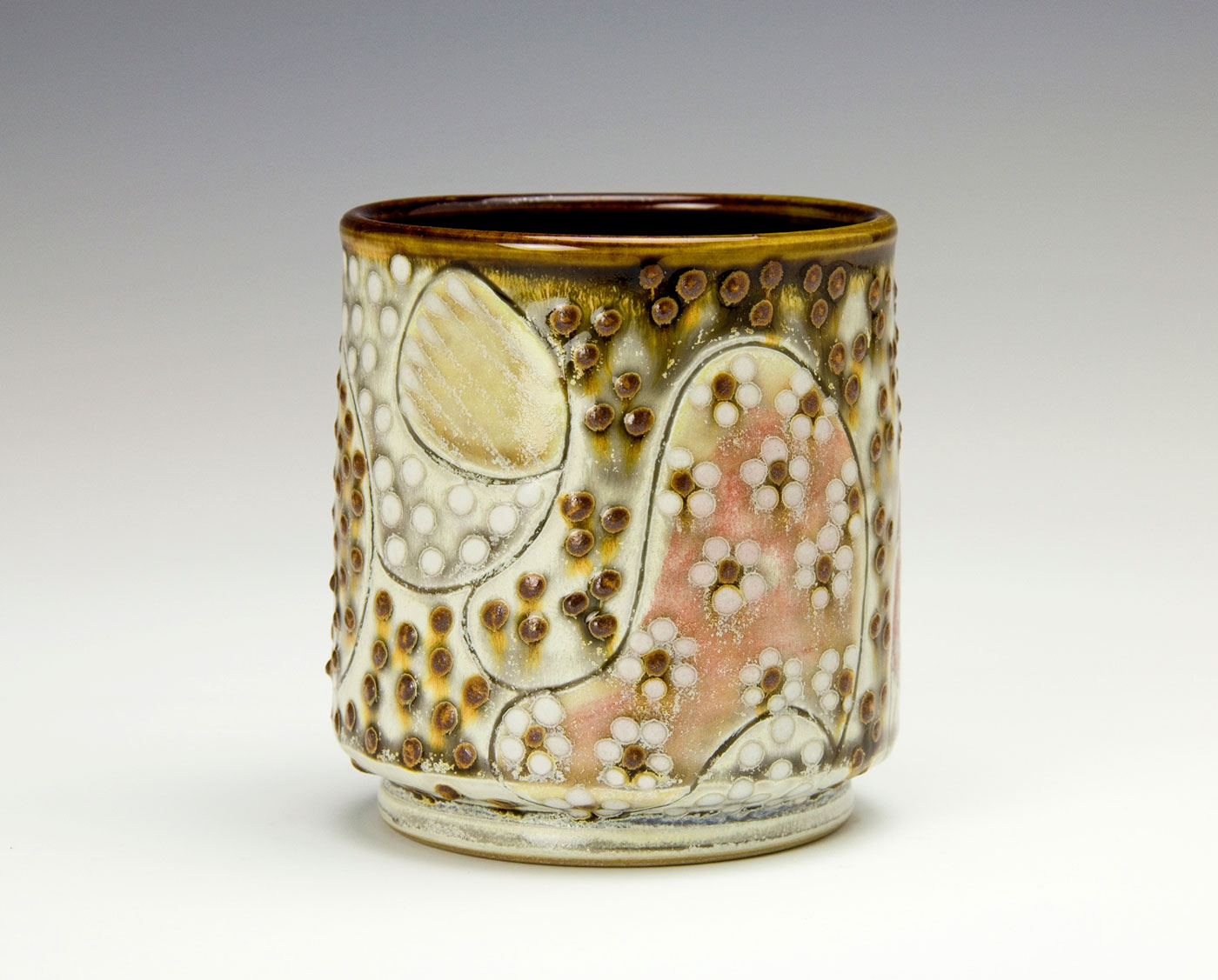 Pattern-Medley-Drinking-cup-Samantha-Henneke-Seagrove-Pottery.jpg