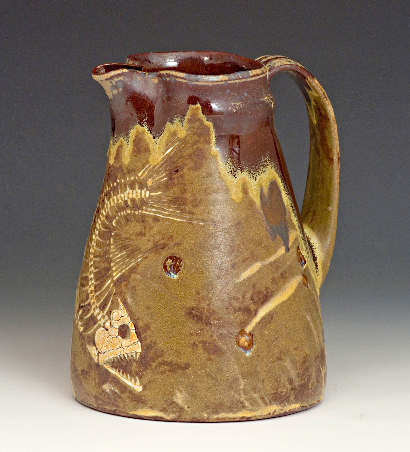 Ceramic-Art-Fossil-Fish-Pitcher-Bruce-Gholson.jpg