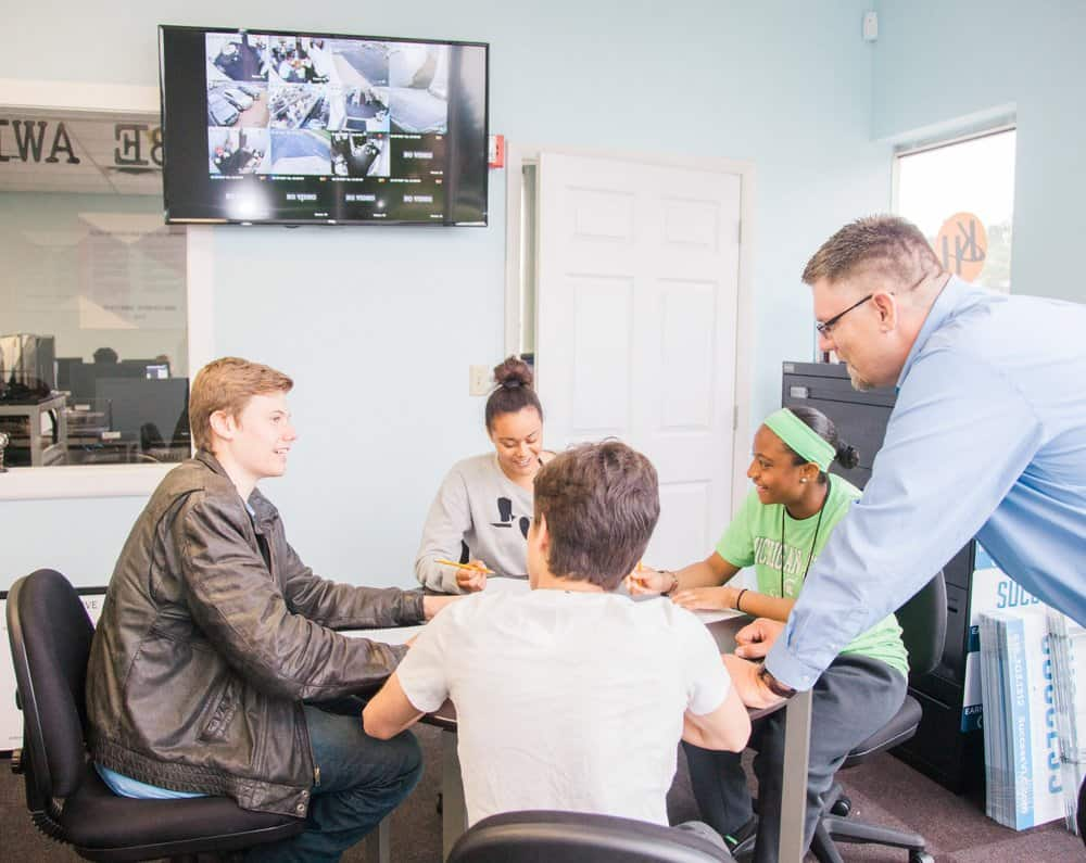 EVERY STUDENT HAS A CUSTOMIZED PLAN TO EARN THEIR HIGH SCHOOL DIPLOMA AND GAIN LIFE SKILLS