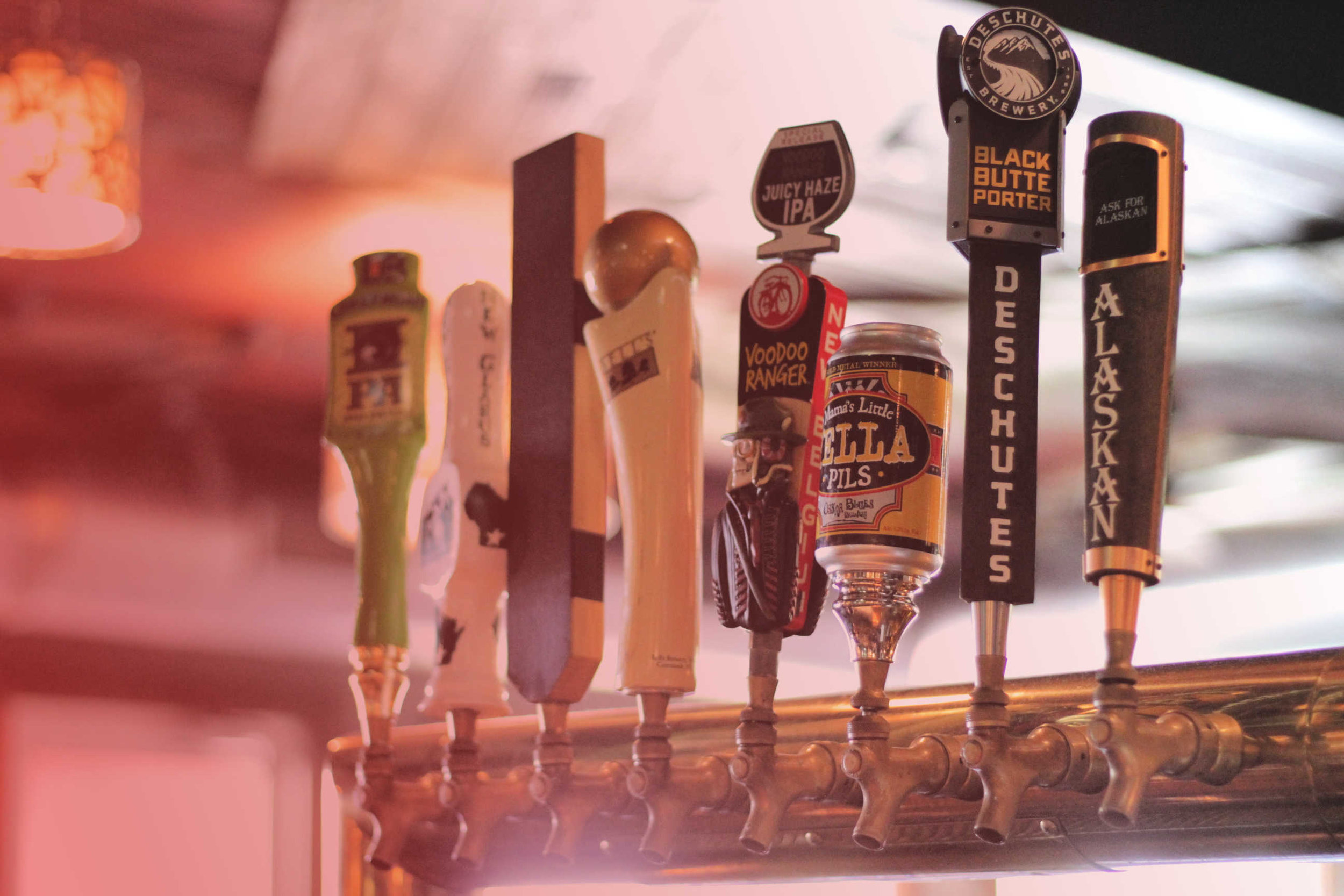 Badger Beers - Cheer on Bucky at Bib's while enjoying half-price tap beers during every Wisconsin football game this season!