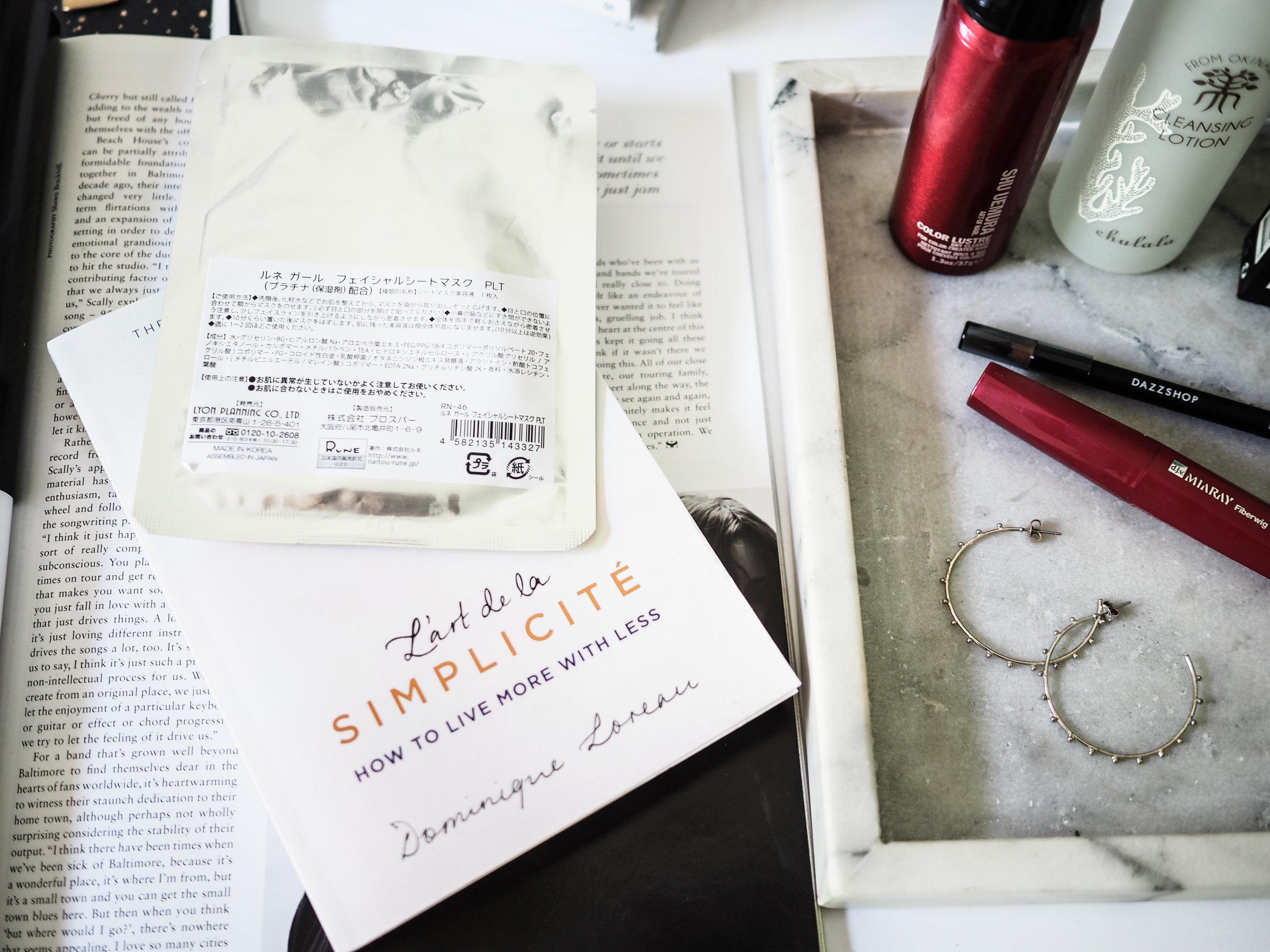 What I'm reading atm.. - L'art de la Simplicité by Dominique Loreau / An insightful read into minimalism inspired by Japanese principles.