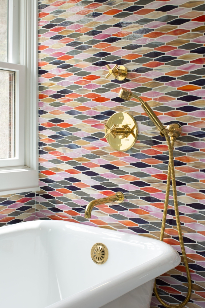 mosaic glass tile