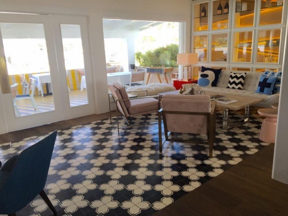 bohemian floor tile