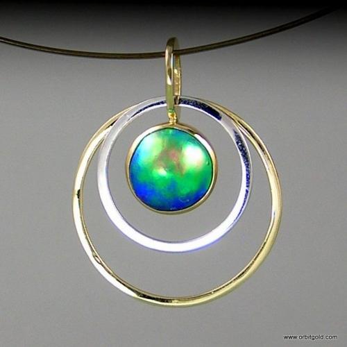 ORBIT - FREE Pacific Blue Pearl Pendant