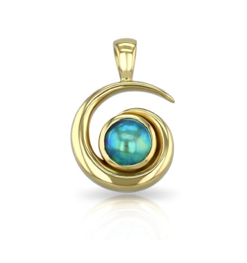 Eyris Pearl - Catherine Best Koru Pendant