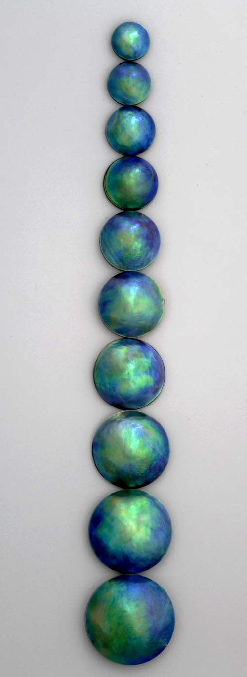 Blue Pearl Size Grading