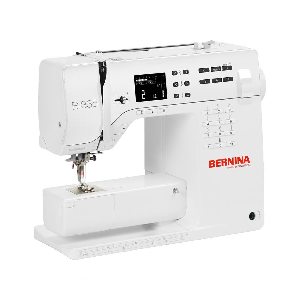 My current sewing machine, the Bernina B335