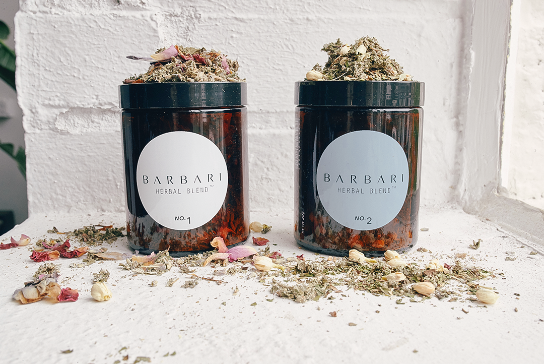 SMOKABLE HERBAL BLENDS  BARBARI
