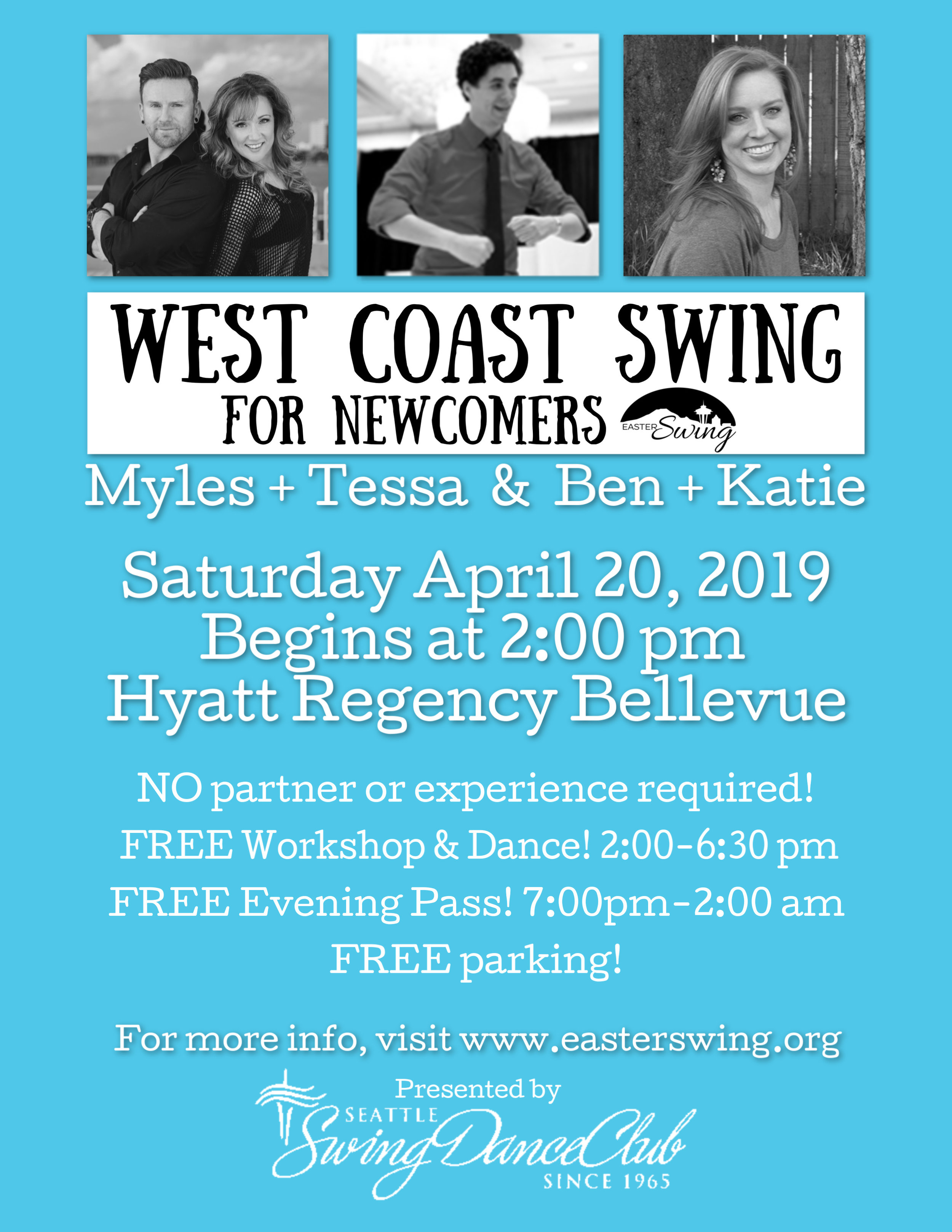 SSDC newcomer easter swing 2019
