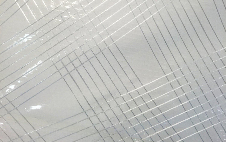 En närbild på ett X-Drive Silver segel.