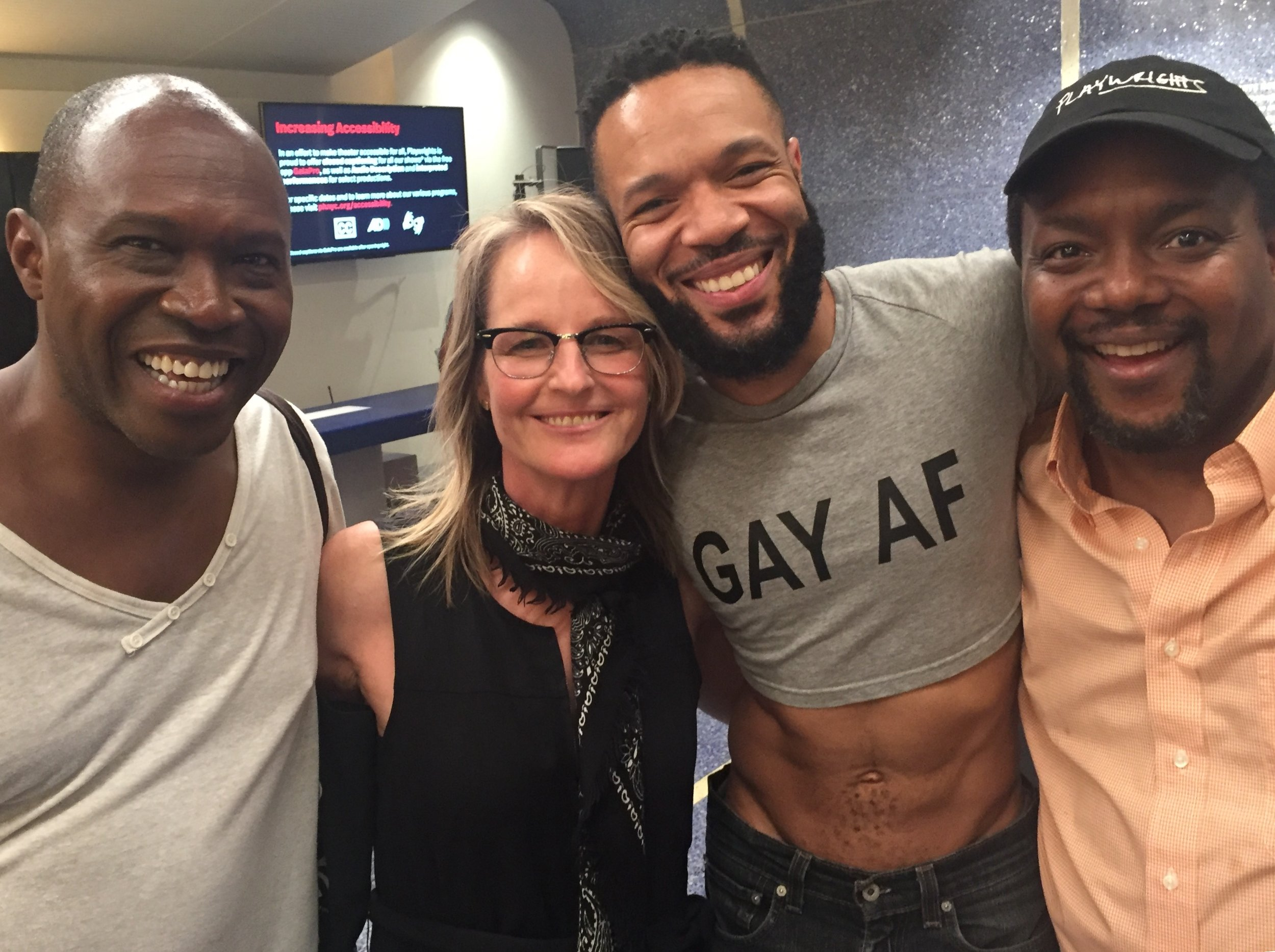 Helen Hunt, and Jason's abs