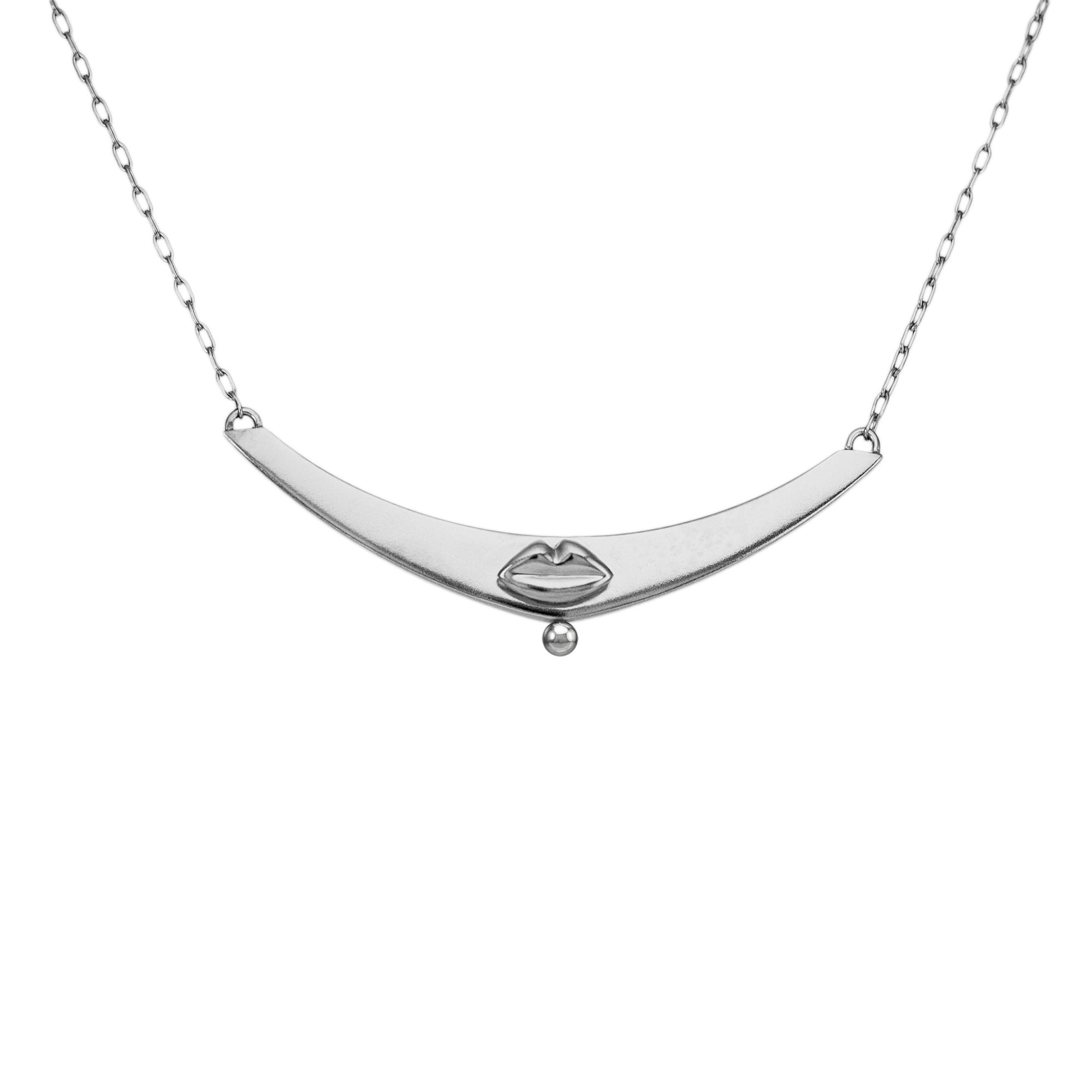 kozminka-necklace-kiss-on-curve-with-bead-silver.jpg