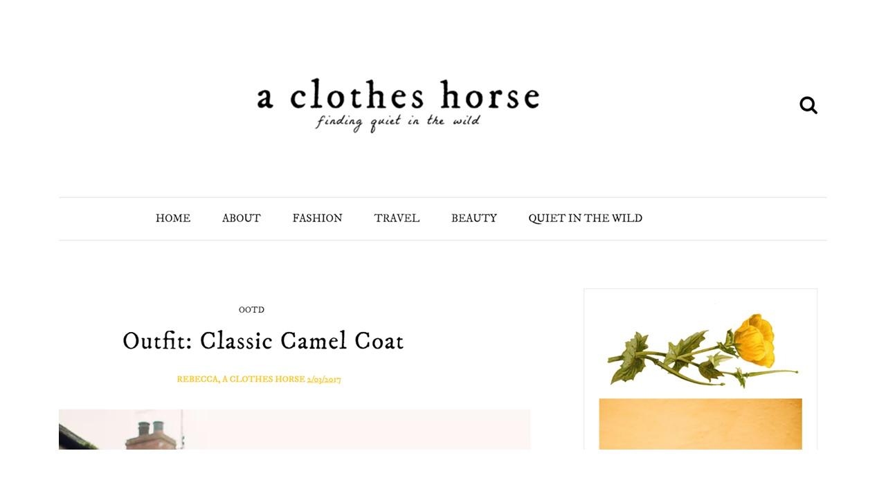 Kozminka A Clothes Horse