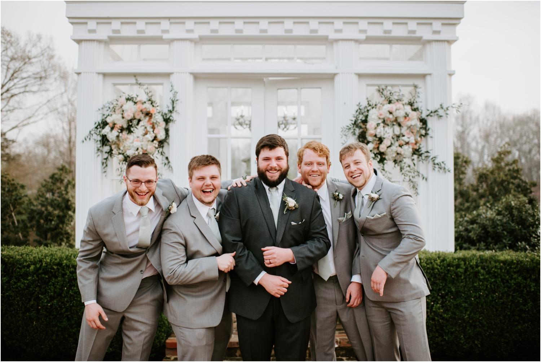 groomsmen memphis wedding gray suits